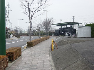 多度津駅前並木道